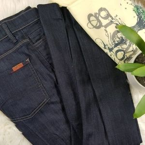 7 For All Mankind Jeans - Seven for all mankind dark wash gingerjeans